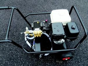 13HP Honda 3000 psi power washer