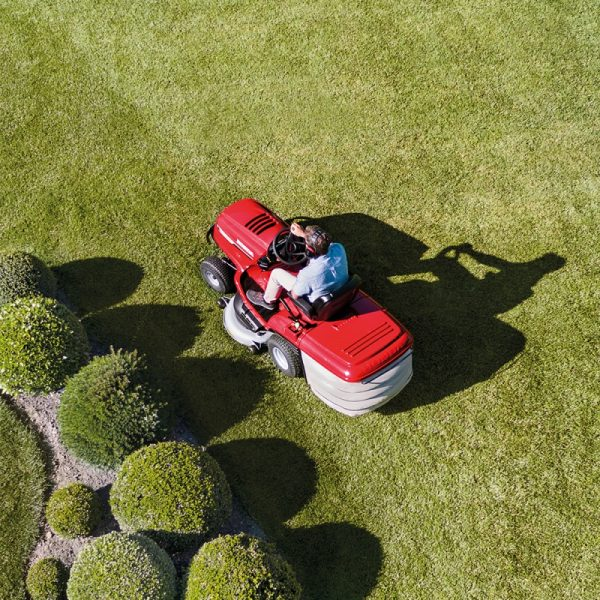 HONDA HF2625 HME lawn mower view from above