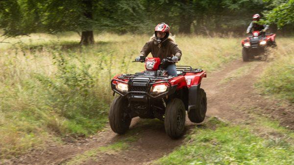 Honda trx520fa6 Quad Bikes or ATVs - on dirt roads
