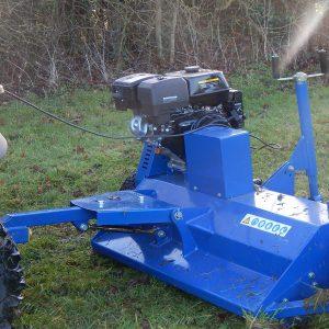 Gwaza Flail Topper - Quad or ATV attachment - quad mower