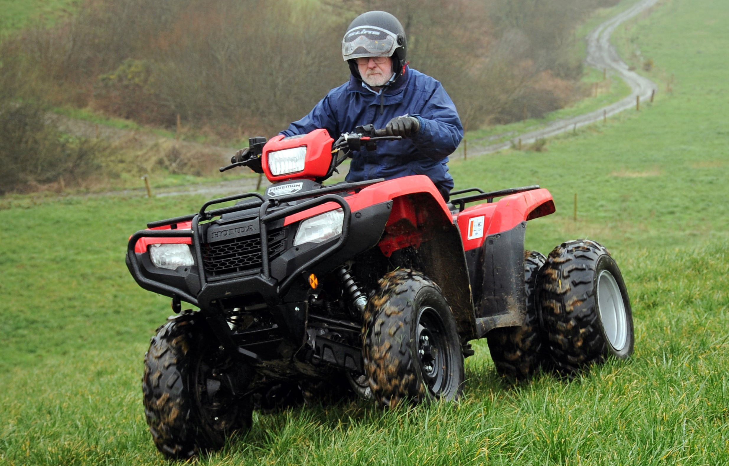 Honda Quads - Farm ATV / Quads for sale for Galway, Mayo, Sligo, Leitrim, Roscommon with McHale Agri - ideal for farms
