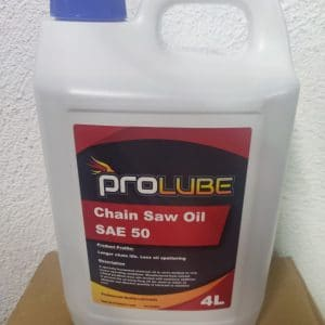 Chainsaw oil 4 Lt - ProLube SAE 50