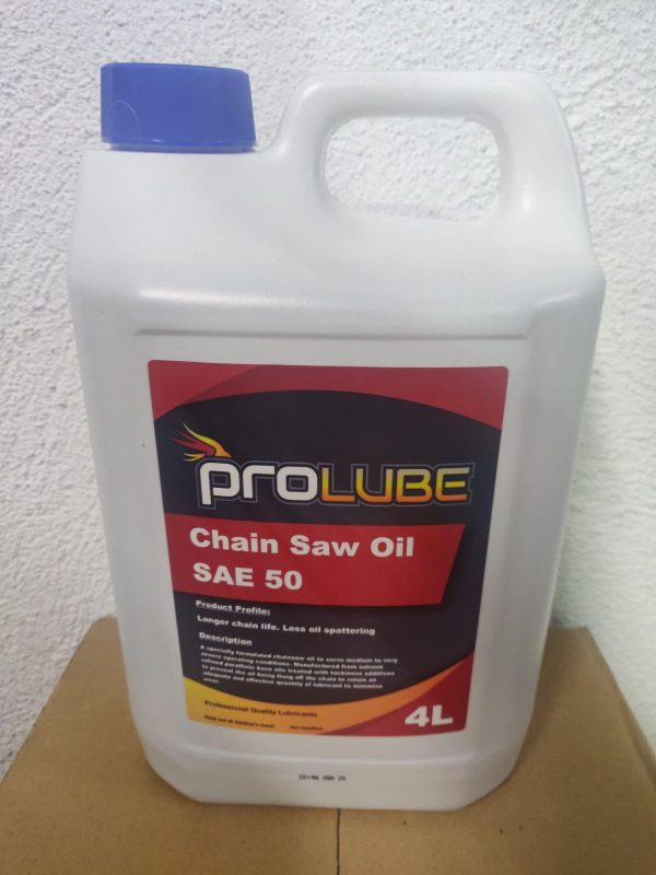 Chainsaw oil 4 Lt - ProLube SAE 50